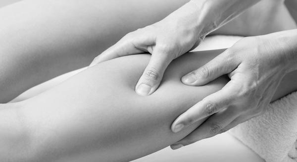 Massage dämpar muskel smärta